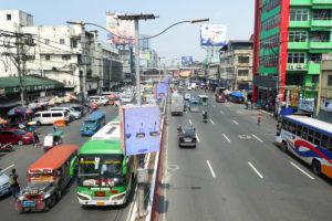 Les routes de Manille