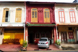 Petites maisons de Chinatown