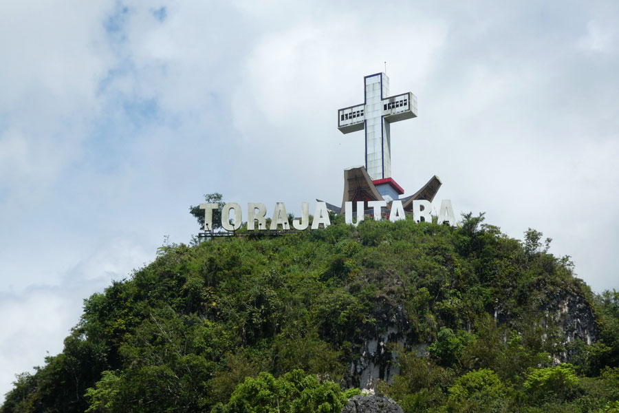 La butte Toraja