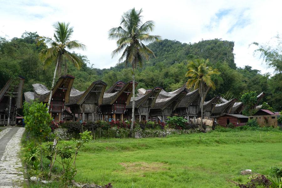 Un village Toraja