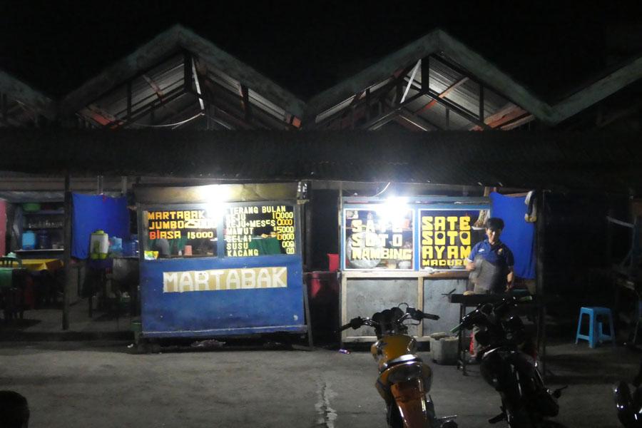 Le marché de nuit de Maumere