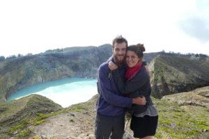 Les lacs du Kelimutu