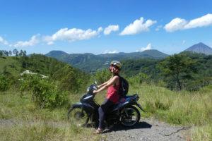 Se perdre en moto à Bajawa