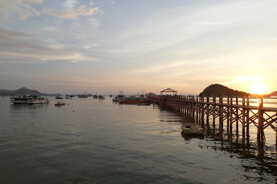 Le port de Labuan Bajo