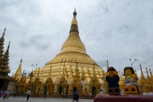 Yangon et la Paya Shwedagon