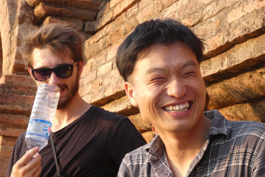 Jordan et Itao/Jay (Australie et Chine)