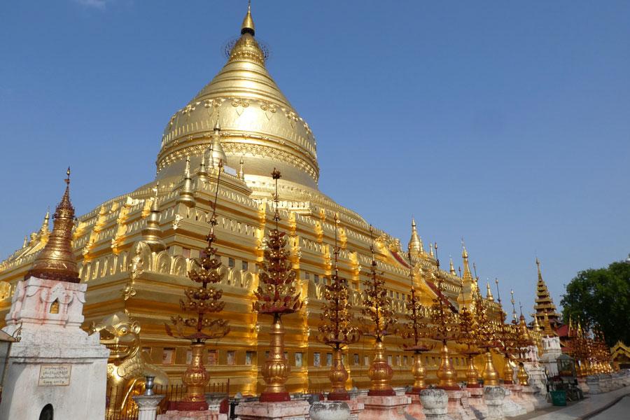 Après les temples en briques, les temples en or :)