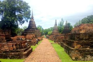 Sukhothaï et Ayutthaya, les anciennes capitales