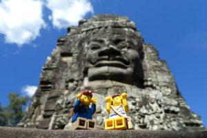 Angkor Thom et ses nombreuses têtes qui vous observent