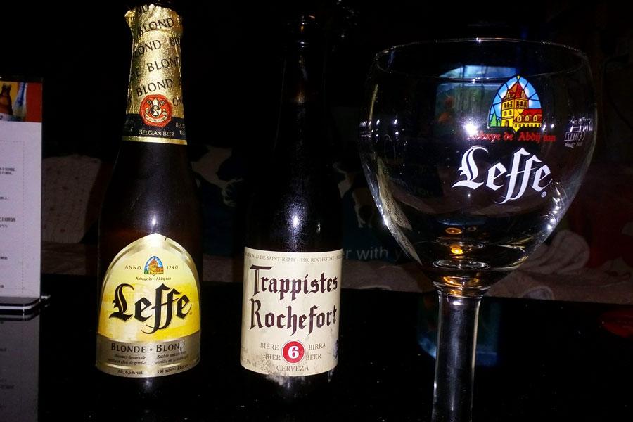 Des petites bières belges pour nous réconforter