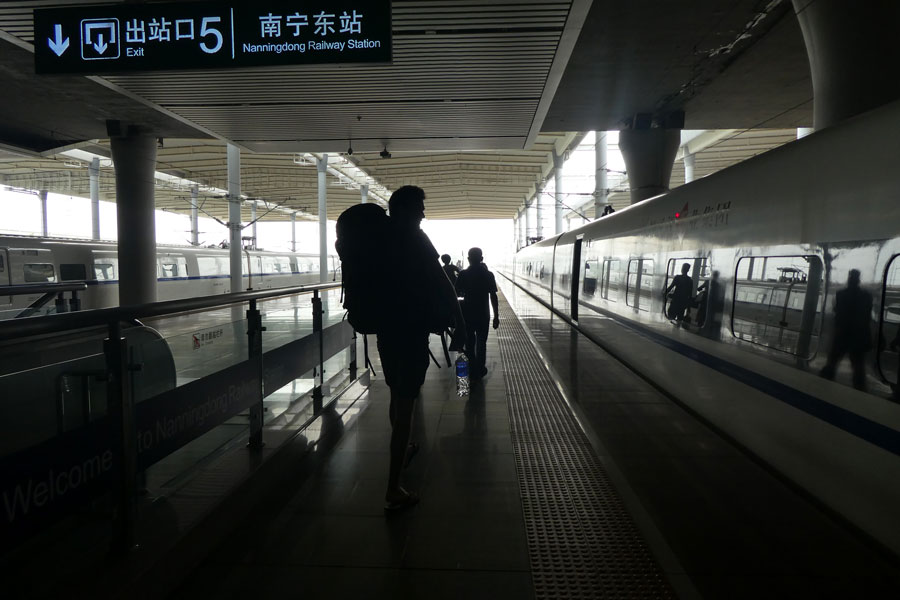 C'est parti pour Shanghai !