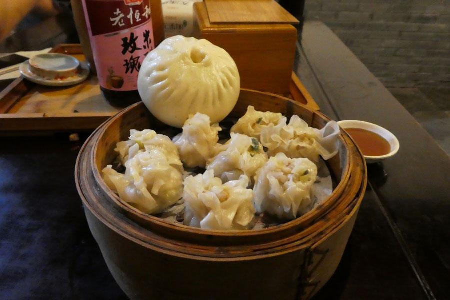 Bao et dumplings comme souper