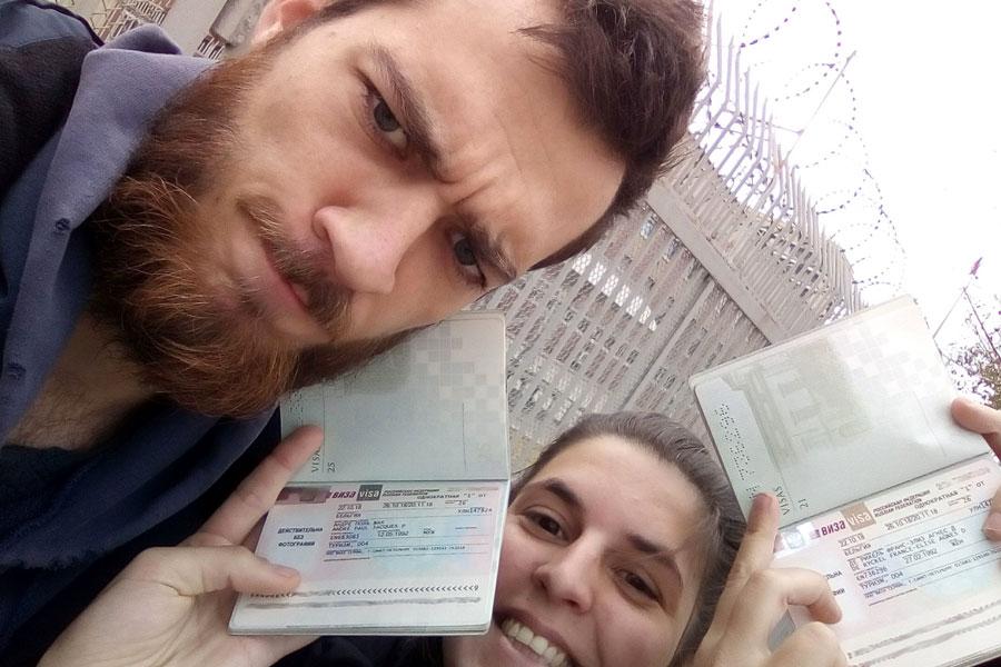 On a le visa Russe !!! ENFIN !!!