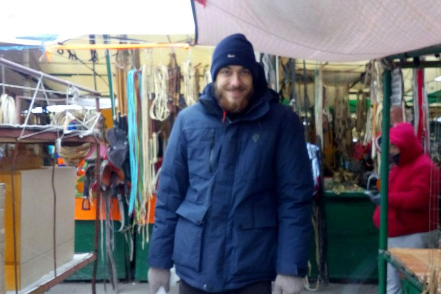 Fait froid au marché !