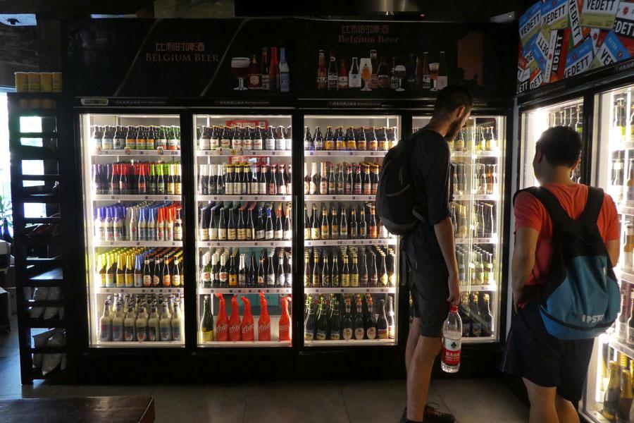 Le paradis du Beer Lady