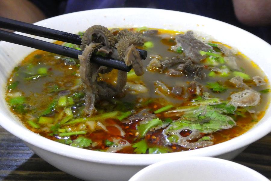 Un bonne soupe de viscères pour se réconforter