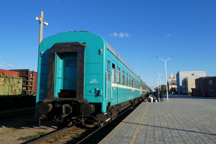 Traversée Beijing - Ulaanbaatar