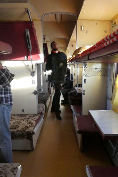Les trains mongols (et russes aussi)