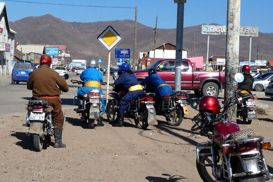 Les motos-taxi