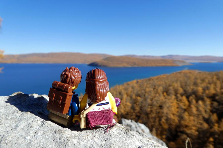 Trek autour du lac Khovsgol