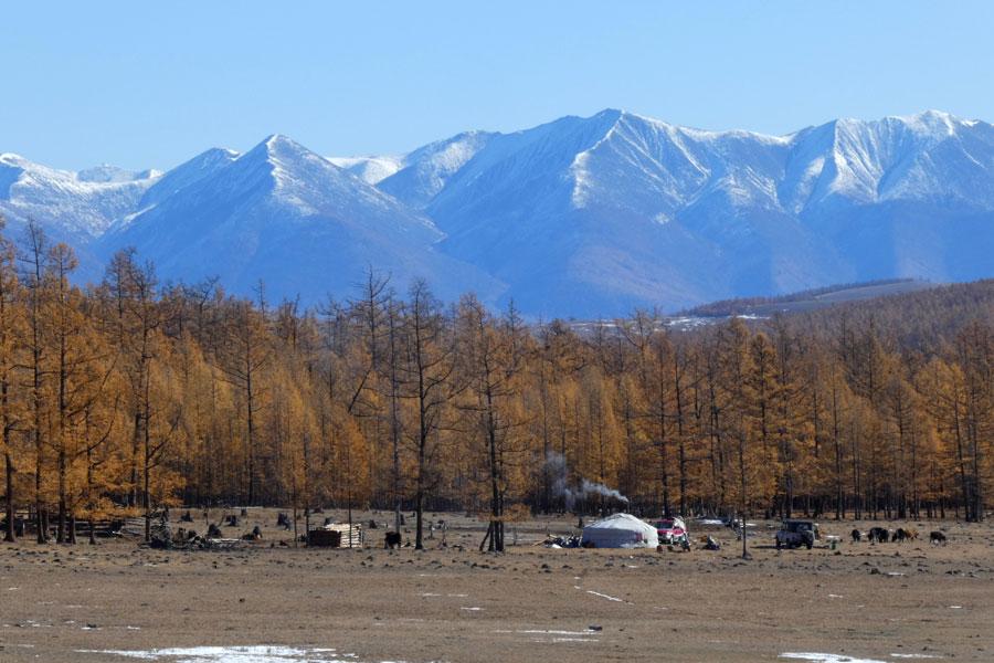 Toute la Mongolie en une seule image