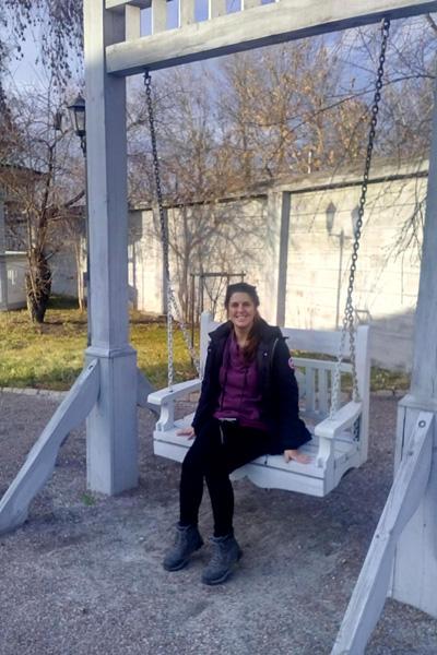 Dans les jardins russes